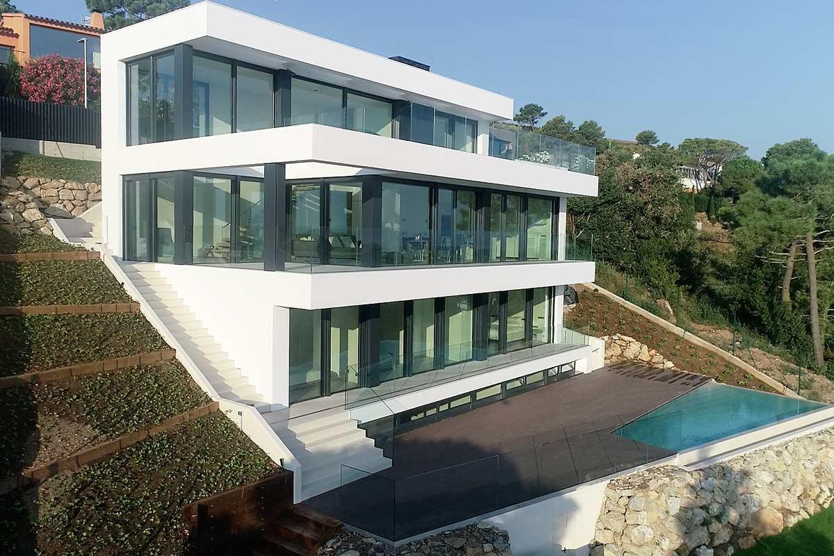 SON RICH. Espectacular casa a Begur amb impressionants vistes de les Illes Medes
