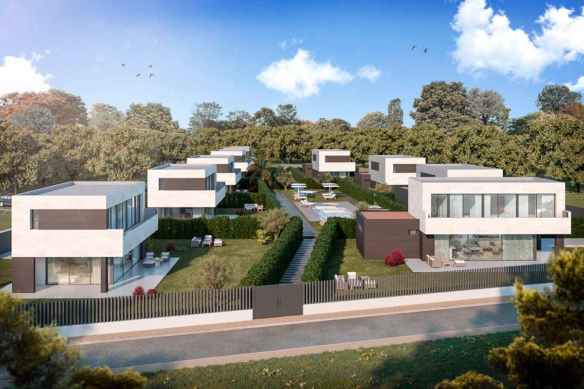 SÓN RICH Gardens. Promoció de 9 cases de luxe amb jardí i piscina comunitària a Begur